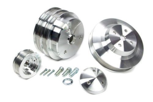 March Performance 6330 Serpentine Pulley Set 3 pc.
