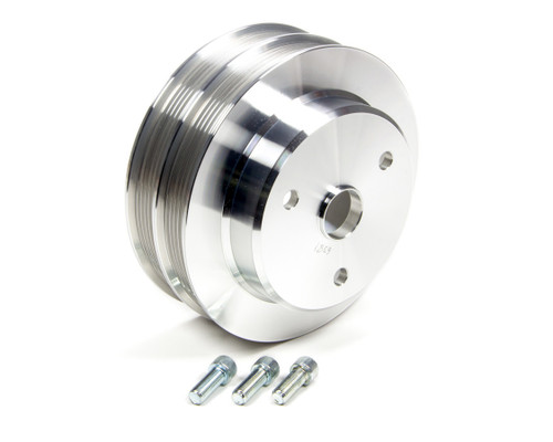 March Performance 6381 Crank Pulley SBC LWP Serpentine Conversion