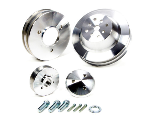 March Performance 7530 BB Chevy 3 Pc Pulley Set