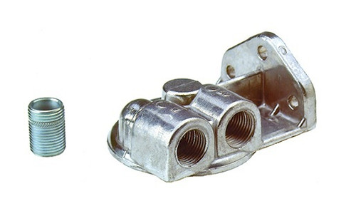Perma-Cool 1711 Oil Filter Mount  3/4in- 16  Ports: 1/2in NPT