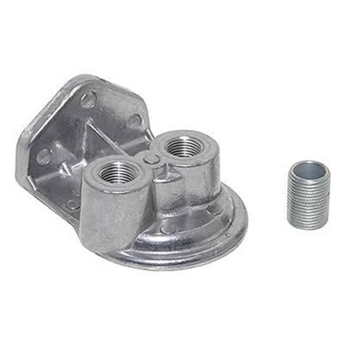 Perma-Cool 1761 Oil Filter Mount 3/4in-16 Ports 3/8in NPT