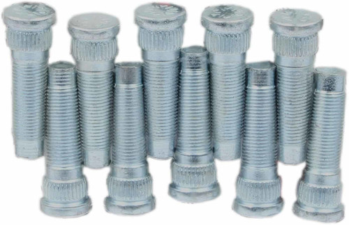 Moser Engineering 8368 1/2in-20 x 1-3/4in Wheel Studs 10pk .615in Knurl
