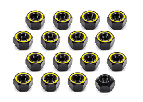 Kluhsman Racing Products 8211 Lugnut 20Pk 5/8-11 Alum Refl Yellow