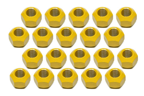 Kluhsman Racing Products 8212T Lugnut 20pk 5/8-11 Steel Teflon Coated Double Ang