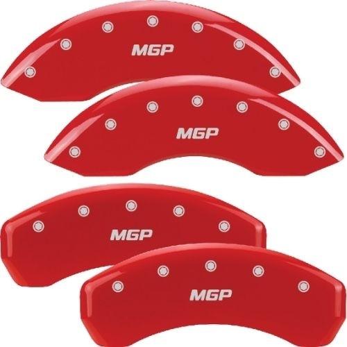 Mgp Caliper Cover 14033SMGPRD 10- Camaro Caliper Cover Red