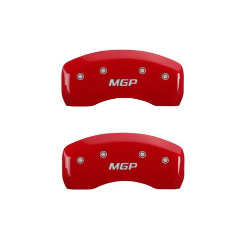 Mgp Caliper Cover 16077SMGPRD 09-15 Toyota Sequia Caliper Covers Red