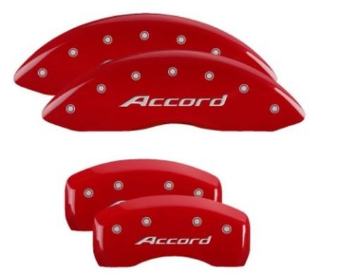 Mgp Caliper Cover 20219SACCRD 16-   Honda Accord Caliper Covers Red