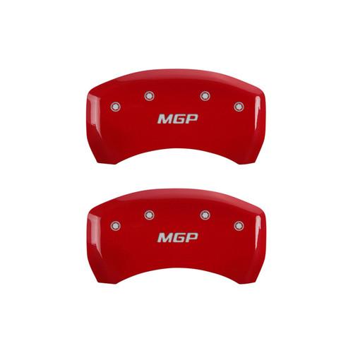 Mgp Caliper Cover 22073SMGPRD 07-15 BMW Caliper Covers Red