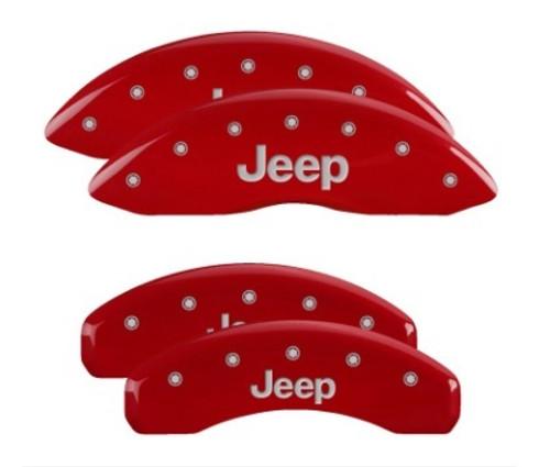 Mgp Caliper Cover 42020SJEPRD 11-   Grand Cherokee Caliper Covers Red