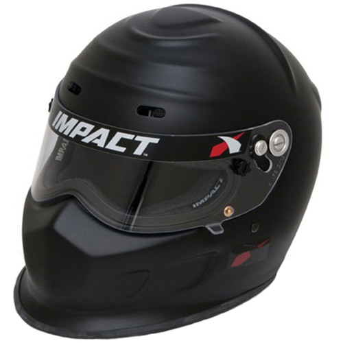 Impact Racing 13015612 Helmet Champ X-Large Flat Black SA2015