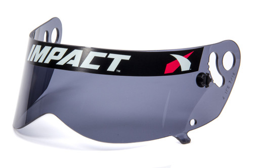 Impact Racing 13199903 Shield Dark Smoke Anti- Fog Champ/Nitro