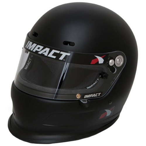 Impact Racing 14015412 Helmet Charger Medium Flat Black SA2015