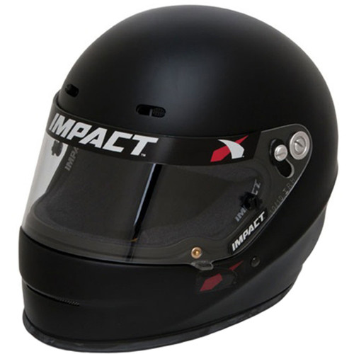Impact Racing 14515512 Helmet 1320 Large Flat Black SA2015