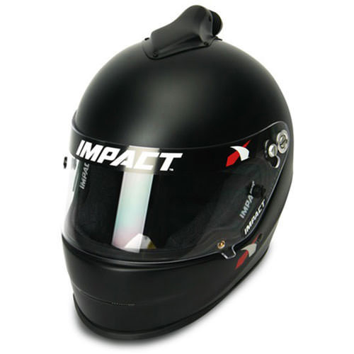 Impact Racing 14815312 Helmet 1320 Small Top Air Flat Black SA2015