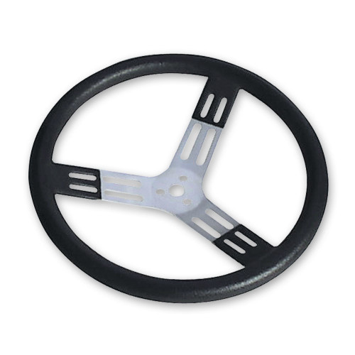 Longacre 52-56825 17in Steering Wheel Blk With Bumps