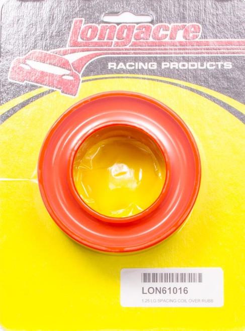 Longacre 52-61016 Spring Rubber Large Space Orange 15lb