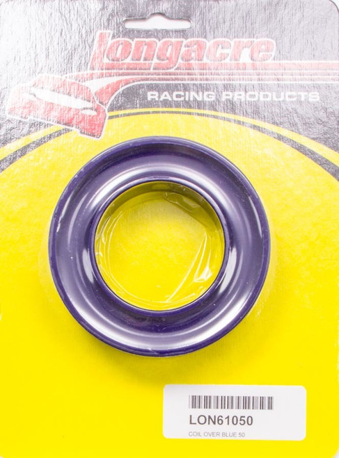 Longacre 52-61050 Coil Over Spring Rubber Blue 50