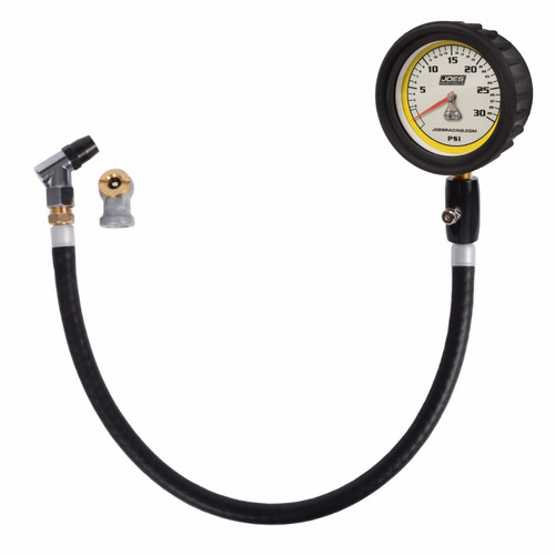 Joes Racing Products 32326 Tire Pressure Gauge 0-30psi Pro w/HiFlo Hold
