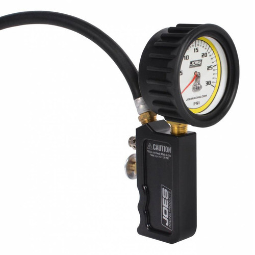 Joes Racing Products 32490 Tire Inflator 0-30psi Analog Billet Quick Fill