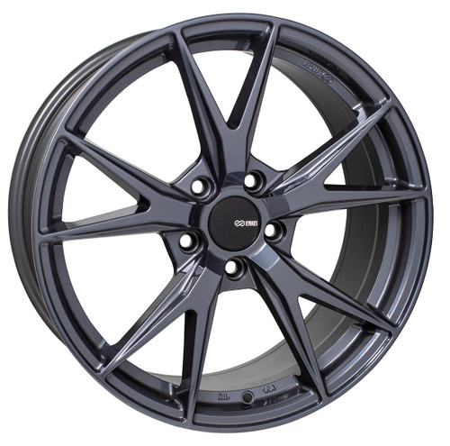 Enkei 523-775-6545BGM Phoenix Blue Gunmetal Performance Wheel 17x7.5 5x114.3 45mm Offset 72.6mm Bore