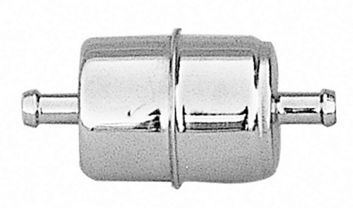 Trans-Dapt 9177 3/8in Chrome Fuel Filter