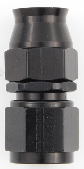 Fragola 680106-BL Hose Fitting #6 Straight PTFE Black