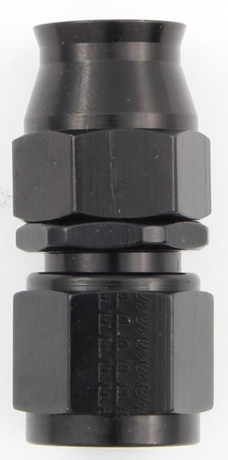 Fragola 680108-BL Hose Fitting #8 Straight PTFE Black