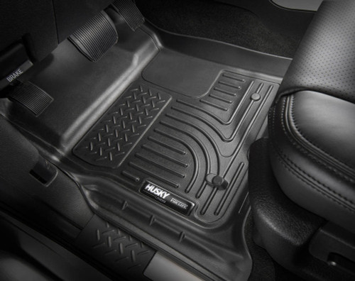 Husky Liners 99151 Front & 2nd Seat Floor L iner Weatherbeater