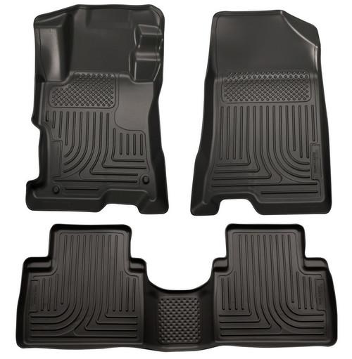 Husky Liners 98851 11- Hyundai Sonata Front /2nd Floor Liners Black