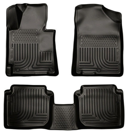 Husky Liners 98891 11-13 Hyundai Elantra Front/2nd Floor Liners