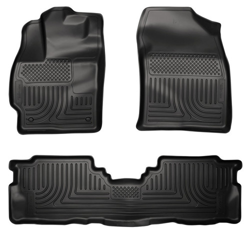 Husky Liners 98911 12-   Toyota Prius Front & 2nd Seat Floor Liners
