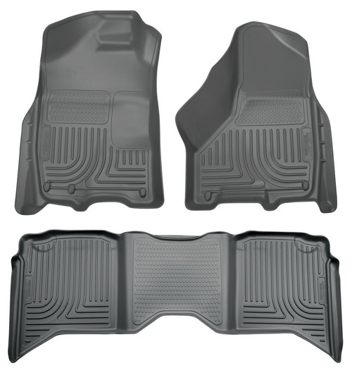 Husky Liners 99002 09- Ram 1500 Crew Cab Front/2nd Seat Liners