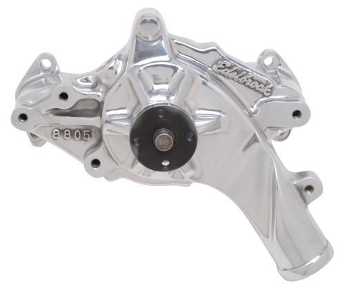 Edelbrock 8835 Ford FE Water Pump - Polished