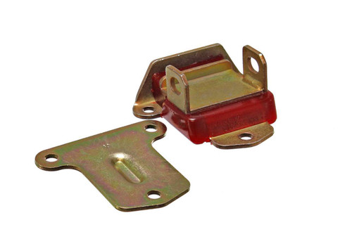 Energy Suspension 3-1114R 58-72 Chev V8 Motor Moun Zinc Plated - Red
