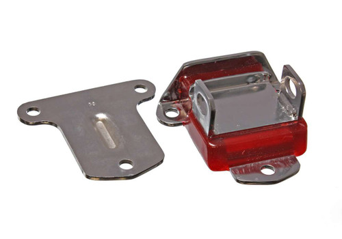 Energy Suspension 3-1115R 58-72 Chevy Chrome Motor Mount W/ Red Pad