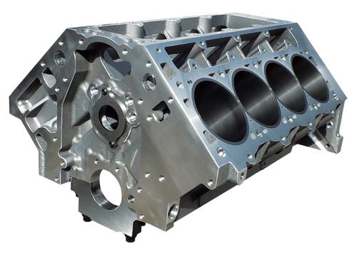 Dart 31937211 LS Alm. Block - 9.240/ 4.125 w/Steel Main Caps