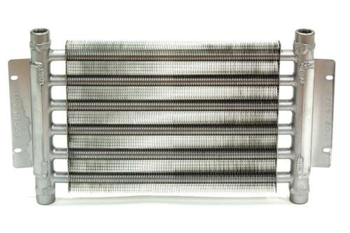 Fluidyne Performance DB-30317-RTF Oil Cooler Engine Dbl Legends 1/2in NPT