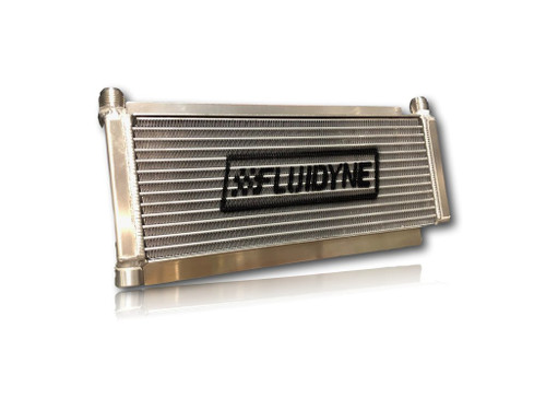 Fluidyne Performance DB-30404-DRT Oil Cooler Dirt Late Model 12AN 17.5in x 6in