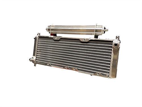 Fluidyne Performance DB-30404-LEG Oil Cooler Legends 8-AN Scoop and Brackets