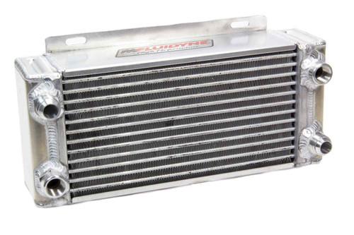 Fluidyne Performance DB-30516 500 Series Oil Cooler-12 AN fittings-1 Pass