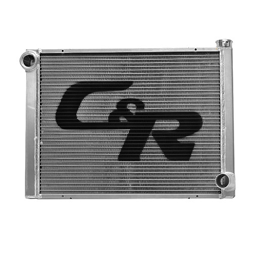 C And R Racing Radiators 900-31190 Radiator 18.5x31 Single Pass Low Outlet Open