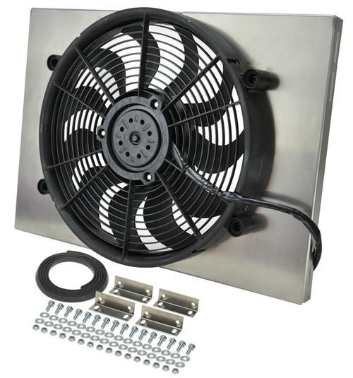 Derale 16828 RAD Fan w/Alum Shroud Assembly