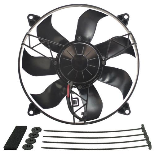 Derale 16918 12in High Output RAD Fan Single Puller