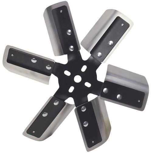 Derale 17013 13in Stainless Steel Fleex Fan (Black Hub)