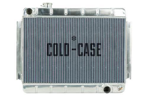 Cold Case Radiators CHE542 66-67 Chevelle Radiator MT