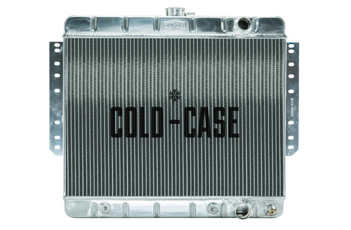 Cold Case Radiators CHI565A 61-65 Impala Radiator St amped