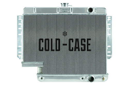 Cold Case Radiators CHI565A-5 61-65 Impala with 500 St eering Box Radiator