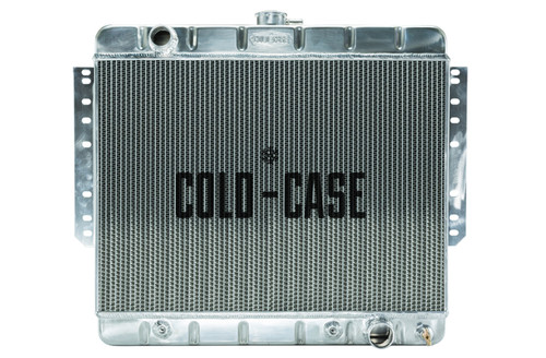 Cold Case Radiators CHI566A 66-68 Impala Radiator St amped