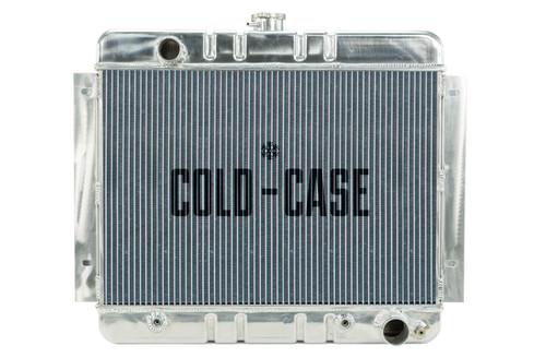Cold Case Radiators CHN540A 62-67 Chevy Nova Radiato r AT