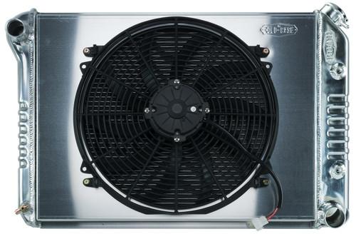 Cold Case Radiators CHN548AK 68-79 Nova BB Radiator & 16in Fan Kit AT